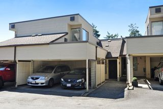 "Photo 1: 112 1210 FALCON Drive in Coquitlam: Upper Eagle Ridge Townhouse for sale in ""FERNLEAF PLACE"" : MLS®# R2186776"