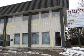 Photo 1: 101 18 Rayborn Crescent: St. Albert Office for sale : MLS®# E4106116