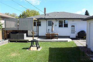 Photo 17: 98 De Bourmont Bay in Winnipeg: Windsor Park Residential for sale (2G)  : MLS®# 1825984