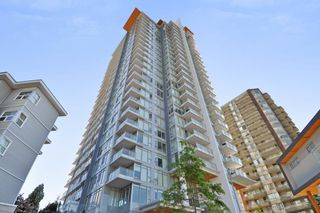 "Photo 1: 709 520 COMO LAKE Avenue in Coquitlam: Coquitlam West Condo for sale in ""CROWN"" : MLS®# R2313415"