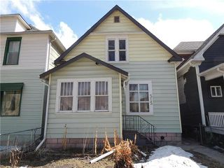 Photo 1: 515 Home Street in Winnipeg: Residential for sale (5A)  : MLS®# 1905607