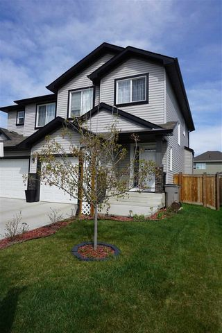 Photo 1: 49 SOUTH CREEK Wynd: Stony Plain House Half Duplex for sale : MLS®# E4160574