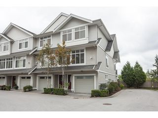 "Photo 1: 14 19330 69 Avenue in Surrey: Clayton Townhouse for sale in ""MONTEBELLO"" (Cloverdale)  : MLS®# R2420191"