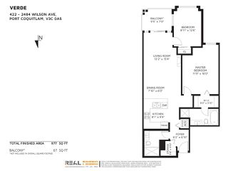 Photo 20: 422 2484 WILSON Avenue in Port Coquitlam: Central Pt Coquitlam Condo for sale : MLS®# R2435839