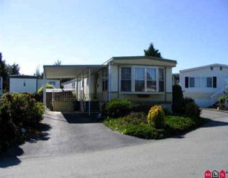 "Photo 1: 83 15875 20TH AV in White Rock: King George Corridor Manufactured Home for sale in ""Searidge Bays"" (South Surrey White Rock)  : MLS®# F2511897"