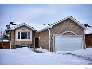 Photo 1: 333 Rosybloom Lane in ILEDESCH: Glenlea / Ste. Agathe / St. Adolphe / Grande Pointe / Ile des Chenes / Vermette / Niverville Residential for sale (Winnipeg area)  : MLS®# 1603010
