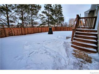Photo 19: 333 Rosybloom Lane in ILEDESCH: Glenlea / Ste. Agathe / St. Adolphe / Grande Pointe / Ile des Chenes / Vermette / Niverville Residential for sale (Winnipeg area)  : MLS®# 1603010