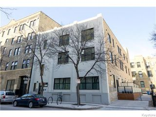 Photo 1: 133 Market Avenue in Winnipeg: Central Winnipeg Condominium for sale : MLS®# 1609413