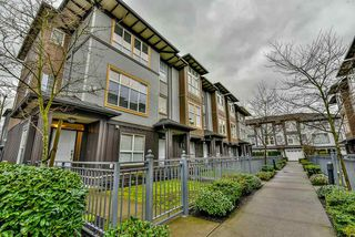 "Photo 1: 47 18777 68A Avenue in Surrey: Clayton Townhouse for sale in ""Compass"" (Cloverdale)  : MLS®# R2146165"