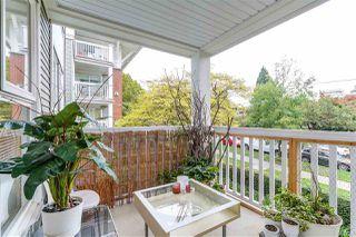 """Photo 20: 202 1858 W 5TH Avenue in Vancouver: Kitsilano Condo for sale in """"GREENWICH"""" (Vancouver West)  : MLS®# R2217011"""