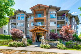 "Photo 1: 307 3110 DAYANEE SPRINGS Boulevard in Coquitlam: Westwood Plateau Condo for sale in ""LEDGEVIEW"" : MLS®# R2229127"