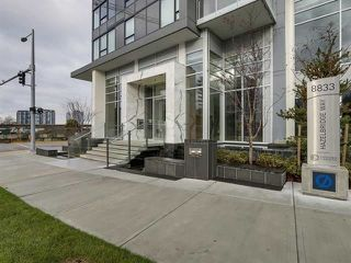 Photo 1: 706 8833 HAZELBRIDGE Way in Richmond: West Cambie Condo for sale : MLS®# R2266719