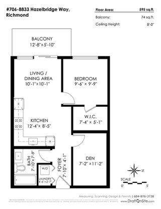 Photo 3: 706 8833 HAZELBRIDGE Way in Richmond: West Cambie Condo for sale : MLS®# R2266719
