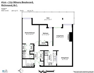 """Photo 3: 120 7751 MINORU Boulevard in Richmond: Brighouse South Condo for sale in """"CANTERBURY COURT"""" : MLS®# R2273101"""