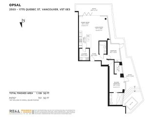 "Photo 20: 2503 1775 QUEBEC Street in Vancouver: Mount Pleasant VE Condo for sale in ""OPSAL"" (Vancouver East)  : MLS®# R2281959"