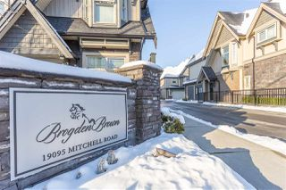 "Photo 20: 30 19095 MITCHELL Road in Pitt Meadows: Central Meadows Townhouse for sale in ""BROGDEN BROWN"" : MLS®# R2348349"
