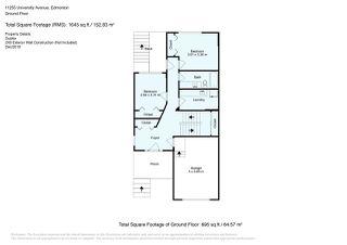 Photo 28: 11255 UNIVERSITY Avenue in Edmonton: Zone 15 House Half Duplex for sale : MLS®# E4152127
