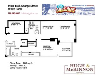 """Photo 39: 203 1455 GEORGE Street: White Rock Condo for sale in """"Avra"""" (South Surrey White Rock)  : MLS®# R2510958"""