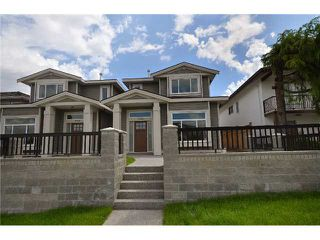 Photo 1: 3732 LINWOOD Street in Burnaby: Burnaby Hospital 1/2 Duplex for sale (Burnaby South)  : MLS®# V911303