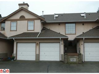 """Photo 1: 231 14861 98TH Avenue in Surrey: Guildford Townhouse for sale in """"MANSIONS"""" (North Surrey)  : MLS®# F1201796"""