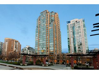 "Photo 1: 2205 1188 RICHARDS Street in Vancouver: Yaletown Condo for sale in ""Park Plaza"" (Vancouver West)  : MLS®# V1061571"