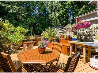 "Photo 1: 847 BLACKSTOCK Road in Port Moody: North Shore Pt Moody Townhouse for sale in ""WOODSIDE VILLAGE"" : MLS®# V1104298"
