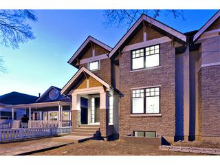 Photo 1: 712 19 Avenue NW in Calgary: Mount Pleasant House for sale : MLS®# C3656389