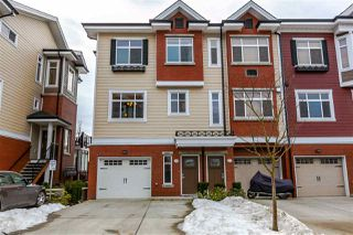 "Photo 1: 22 8068 207 Street in Langley: Willoughby Heights Townhouse for sale in ""Yorkson Creek South"" : MLS®# R2139834"
