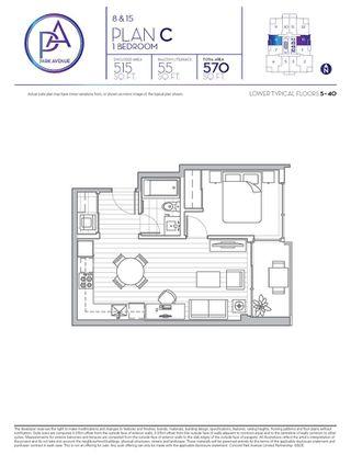 Photo 9: 1515 13750 100 Avenue in Surrey: Whalley Condo for sale (North Surrey)  : MLS®# R2325445