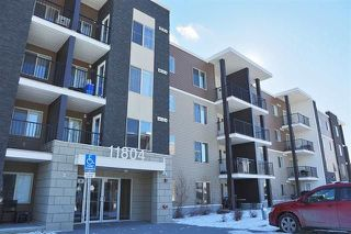 Main Photo: #110, 11804 22 Avenue in Edmonton: Zone 55 Condo for sale : MLS®# E4141254