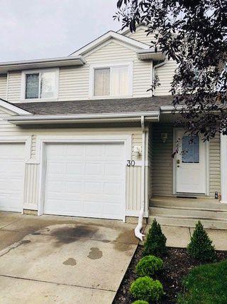 Photo 1: 30 14603 MILLER Boulevard in Edmonton: Zone 02 House Half Duplex for sale : MLS®# E4148495