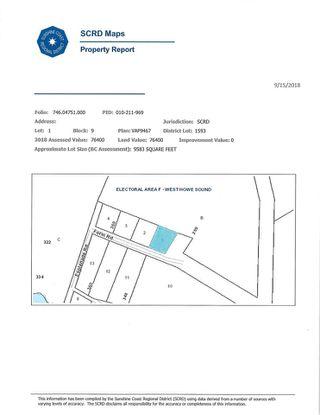Photo 3: Lot 1 FORIN Road: Keats Island Land for sale (Sunshine Coast)  : MLS®# R2414802