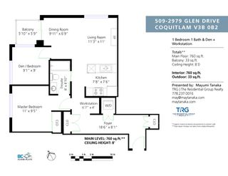 "Photo 24: 509 2979 GLEN Drive in Coquitlam: North Coquitlam Condo for sale in ""ALAMONTE"" : MLS®# R2483786"