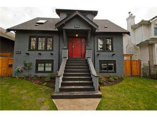 Photo 1: 844 22ND Ave E in Vancouver East: Fraser VE Home for sale ()  : MLS®# V995269
