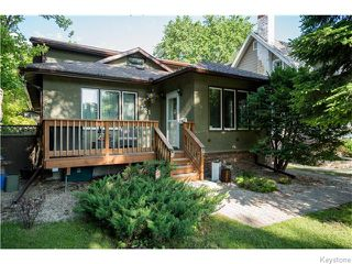 Photo 1: 321 Waterloo Street in Winnipeg: River Heights / Tuxedo / Linden Woods Residential for sale (South Winnipeg)  : MLS®# 1614223