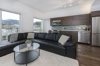 """Photo 1: 408 317 BEWICKE Avenue in North Vancouver: Hamilton Condo for sale in """"Seven Hundred"""" : MLS®# R2148389"""