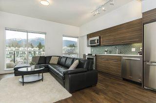 """Photo 2: 408 317 BEWICKE Avenue in North Vancouver: Hamilton Condo for sale in """"Seven Hundred"""" : MLS®# R2148389"""