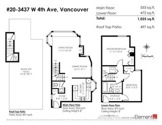 """Photo 20: 20 3437 W 4TH Avenue in Vancouver: Kitsilano Townhouse for sale in """"Waterwood Court"""" (Vancouver West)  : MLS®# R2221061"""