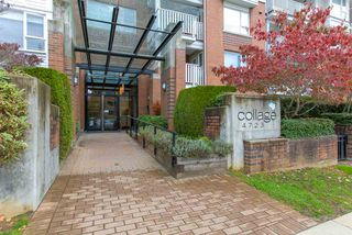 """Photo 3: 116 4723 DAWSON Street in Burnaby: Brentwood Park Condo for sale in """"COLLAGE"""" (Burnaby North)  : MLS®# R2312955"""