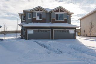 Main Photo: 5031 ANDISON Close in Edmonton: Zone 55 House Half Duplex for sale : MLS®# E4137703