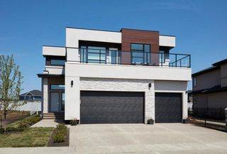 Photo 1: 3163 Cameron Heights Way NW in Edmonton: Zone 20 House for sale : MLS®# E4138223