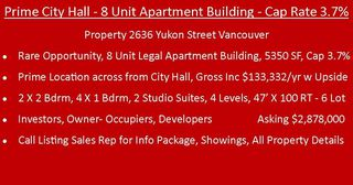 Photo 4: 2636 YUKON Street in Vancouver: Mount Pleasant VW Multi-Family Commercial for sale (Vancouver West)  : MLS®# C8023684