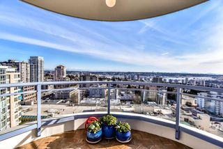 "Photo 1: 1805 739 PRINCESS Street in New Westminster: Uptown NW Condo for sale in ""BERKLEY PLACE"" : MLS®# R2343859"