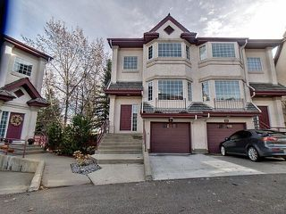 Main Photo: 9 1237 Carter Crest Road in Edmonton: Zone 14 Townhouse for sale : MLS®# E4145594