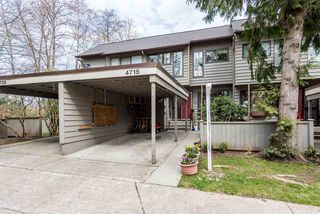 """Main Photo: 4715 LAURELWOOD Place in Burnaby: Greentree Village Townhouse for sale in """"GREENTREE VILLAGE"""" (Burnaby South)  : MLS®# R2340094"""