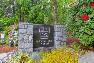 Photo 1: 37 181 RAVINE Drive in Port Moody: Heritage Mountain Townhouse for sale : MLS®# R2371648
