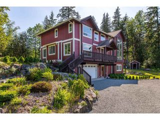 "Photo 1: 6027 DUNKERLEY Drive in Abbotsford: Sumas Mountain House for sale in ""Sumas Mountain"" : MLS®# R2386446"