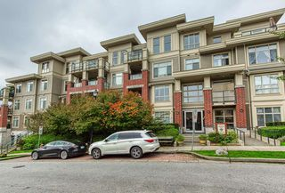 """Photo 1: 309 270 FRANCIS Way in New Westminster: Fraserview NW Condo for sale in """"The Grove at Victoria Hill"""" : MLS®# R2414262"""