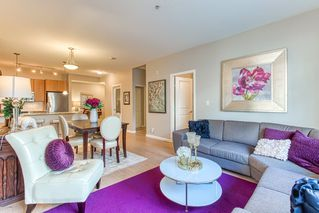 """Photo 3: 309 270 FRANCIS Way in New Westminster: Fraserview NW Condo for sale in """"The Grove at Victoria Hill"""" : MLS®# R2414262"""