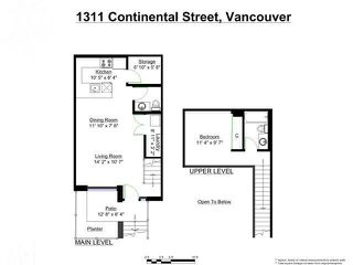 "Photo 20: 1311 CONTINENTAL Street in Vancouver: Downtown VW Townhouse for sale in ""Maddox"" (Vancouver West)  : MLS®# R2445370"